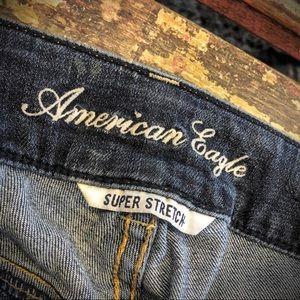 Jeans American Eagle Outfitters Artist Dark Denim Super Stretch Boot Cut